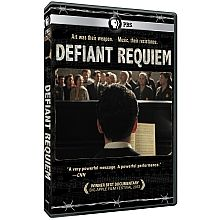 During the oppressive days of World War II, the Nazis established a unique ghetto/ concentration camp known as Terezín to perpetuate an elaborate scheme to deceive the world into believing that they were treating prisoners humanely. Defiant Requiem is a feature-length documentary film which illuminates the extraordinary, untold story of the brave acts of resistance by the Jewish prisoners at Terezín. Not Rated:   85 min