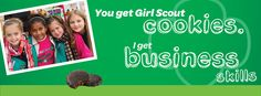 Facebook Cover Photo - Today, Feb. 8th is National Girl Scout Cookie Day! The cookie programs helps girls build a lifetime of skills and confidence.