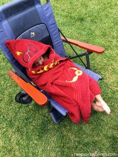 Harry potter hooded Towel