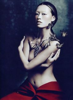 Photographed by Charles Guo for Numero China June/July 2012