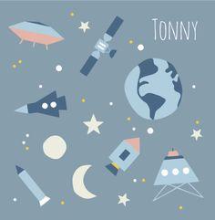 Birthcard Tonny by Hikje