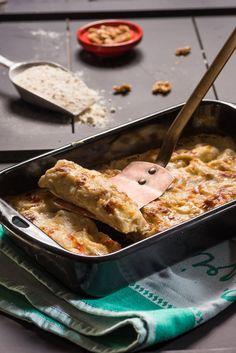 קנלוני במילוי קרם גבינה ואגוזים (צילום: דודו אזולאי)