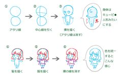 かわいいキャラクターの描き方-簡単!ワンポイントレッスン-