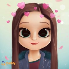 Cute Disney Wallpaper, Cartoon Wallpaper, Pretty Pictures, Girl Pictures, Cute Little Drawings, Cute Cartoon Girl, 3d Girl, Digital Art Girl, Cute Dolls