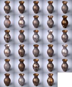 Ornate Glass Iray Shaders | 3D Models for Poser and Daz Studio