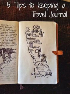 The Long And Winding... : 5 Tips to keeping a travel journal.