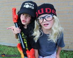 These brothers who are probably too young to know who Wayne and Garth are. | 23 Kids Who Are Totally Nailing This Halloween Thing
