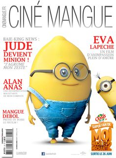 #OasisFan2MMM2 Oasis, Being Ugly, Minions, Advertising, Marketing, Super Heros, French, Design, Food Cartoon