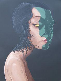Závist (7 smrtelných hříchů) * #envy #painting #malba #curator #collector #mortal #sin #acrylic #birazze #zavist #ladylu #ladyluart #ladyluartist #umeni #sedmsmrtelnychhrichu