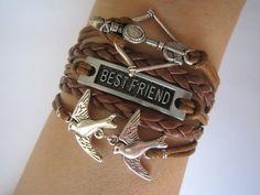 Combined Bracelet / Antiquied Silver Disney Brave by WearingPretty, $7.99