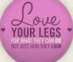 How to be fit? Love your legs for what they can do, not just how they look.Motivational quotes for fitness| Inspirational Quotes| Fitness| Being Fit| Healthy lifestyle| Health| Exercise| Healthy Eating| Lifetime Fitness| Workout| Weight Loss| Full Body Workout| Abs Workout| Stomach Exercises| Become a fitness expert| Bodybuilding| Career in Fitness| Workout Routines|  Exercise| Fitness Online Programs| Join NESTA Network Now! #personaltrainercertification #IloveFitness #burnfat #fitlife…