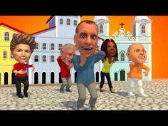 Animação bem humorada da campanha de Nelson Pelegrino a prefeito de Salvador. A letra da música enfatiza projetos do governo do estado da Bahia e dos governos Lula e Dilma, que seriam reproduzidos (ou enfatizados) na cidade caso o candidato seja eleito.
