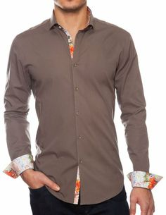 Stone Rose Taupe Color (Like Brown) Cutaway Collar Dress Shirts. 100% Cotton (Xx-Large (Size 6)) Stone Rose http://www.amazon.com/dp/B00ILXCGJG/ref=cm_sw_r_pi_dp_GpNJtb1JB6Q95PB6