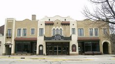 This use to be a movie theater.