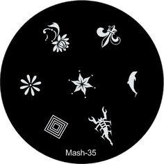 MASH Nail Art Stamp Stamping Image Plate No 35 MASH http://www.amazon.com/dp/B00BIP8IGY/ref=cm_sw_r_pi_dp_ydZtub0J1K67R