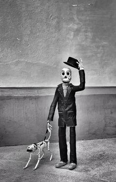 David Brommer. Dia de los Muertos. Zacatecas, Mexico.