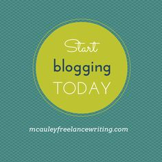 Tips for getting started blogging even if you don't think you're ready