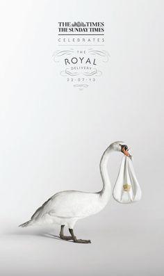 ロイヤル・ベイビー誕生祝福する英老舗高級紙の広告   Fashionsnap.com   Fashionsnap.com
