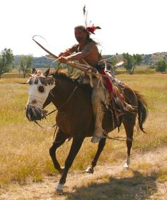 """This is what I SHOULD BE DOING. In modern times, bills pile up and """"progress"""" and development force their way into your life to make sure you CAN'T do things like horse archery everyday!!! :( ~JRH"""