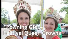 Through the years, Louisiana Festival Queen crowns have become more elaborate -- rivaling those of everyday royalty. #crowns #fashion #louisiana