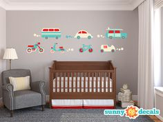 Outer Space Fabric Wall Decals, Wall Stickers, Out Space Theme Nursery Decor, Wall Decals for Kids Rooms - Sunny Decals Nursery Wall Decals, Vinyl Wall Decals, Wall Stickers, Star Nursery, Balloon Wall, Hot Air Balloon, Balloons, Space Fabric, Fabric Material