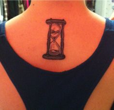 My new tattoo. My version of the Time Turner from Harry Potter.