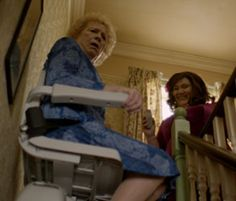 Acorn Stairlift in the BBC series - The Syndicate