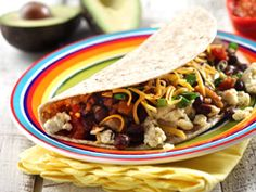 Spice up your breakfast, lunch or supper with egg tacos. Healthy Grains, Healthy Dishes, Healthy Breakfast Recipes, Healthy Eating, Healthy Fats, Clean Eating, Breakfast Tacos, Recipe Details, How To Cook Eggs