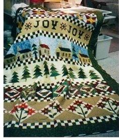 This was from a series of Fons and Porter Quilt magazines. It was called the Joy Sampler