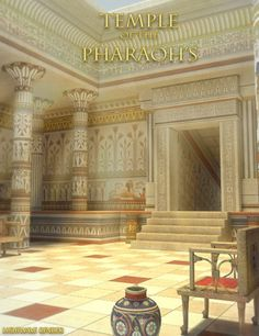Temple of the Pharaohs in Places and Things, Structures, Interiors,  3D Models by Daz 3D