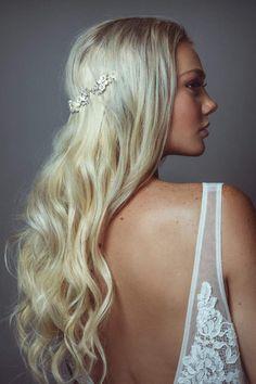 Luxury bridal accessories, tiaras, crowns, vines and statement earrings. Feather Crown, Wedding Tiara Hairstyles, Crown Headband, Hair Vine, Something Beautiful, Bridal Accessories, Crowns, Halo, Headbands
