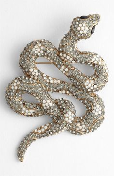 Year of the Snake // Tasha 'Critters' Snake Brooch   Nordstrom $46
