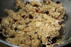 Oatmeal Cookies with White Chocolate and Dried Cranberries | Two Peas & Their Pod