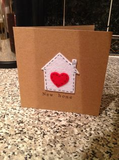 New home card by The Lemon Button