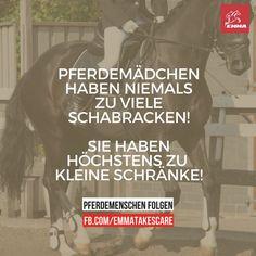 Dieses Problem kennen wir alle ;) P.S.: Auf www.RidersDeal.com gibt es immer tolle Artikel, um den Kleiderschrank von Pferd & Reiter aufzufüllen.