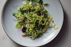 Brussels Sprouts Salad a la M. Wells recipe on Food52