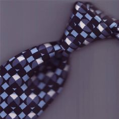 7ae86090ccc5 DON'T COME MUCH FINER THAN THIS HERMES TIE 5312 WHITE BLUE GRAY BLACK 3.2