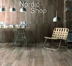 Ceramic Tiles With A Weathered Wood Look | so cool!