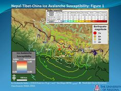Gorkha Earthquake-Induced Ice Avalanche Susceptibility Map