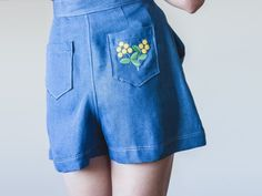These sweet-as-can-be shorts from Brisbane maker Alice Nightingale tick pretty much all of our boxes.