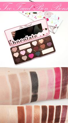 Courtney from Phyrra brings you the Too Faced Chocolate Bon Bons Palette swatched on pale skin with two different looks!