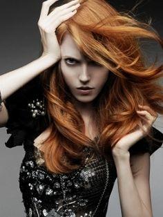 redhead haircolor