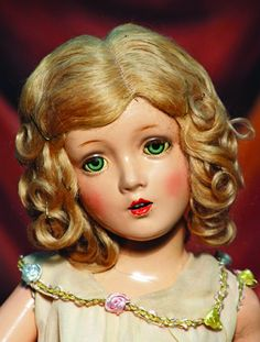 """AMERICAN COMPOSITION PORTRAIT DOLL """"SWEETHEART"""" BY : Lot 154"""