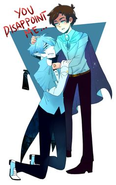 △ Gravity Falls- Reverse Falls △ Rev!Dipper and Will Cipher