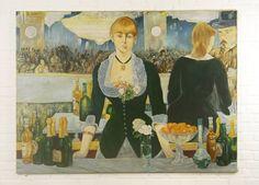 Releitura de Édouard Manet por Fredi Ambrogi Ateliê Técnica mista http://www.elo7.com.br/releitura-manet/dp/2EB6EF