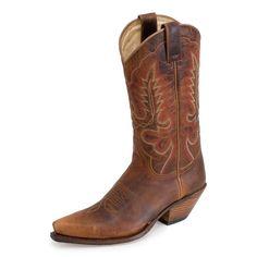 Sendra Boots 5335 Cuervo Mad Dog Mostaza