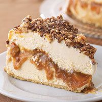 Frozen Snickers Pie