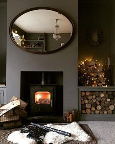Contemporary Home Decor, check out a snug and super delightful pin number 3976488124 today. Farrow And Ball Living Room, Dark Living Rooms, Living Room Paint, Living Room Grey, Home Living Room, Living Room Decor, Lounge Colour Schemes, Living Room Color Schemes, Living Room Designs