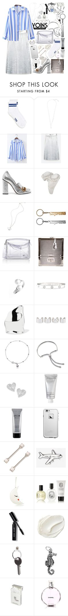 """""""Yoins: paris fashion week"""" by styling-w-mabel ❤ liked on Polyvore featuring Topman, Gucci, Loewe, Louis Vuitton, Rebecca Minkoff, Cartier, Sophie Buhai, Maison Margiela, Monica Vinader and Vivienne Westwood"""