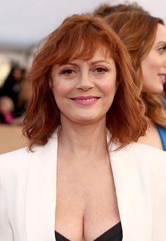 Pin for Later: Les Meilleurs Looks Beauté des SAG Awards 2016 Susan Sarandon